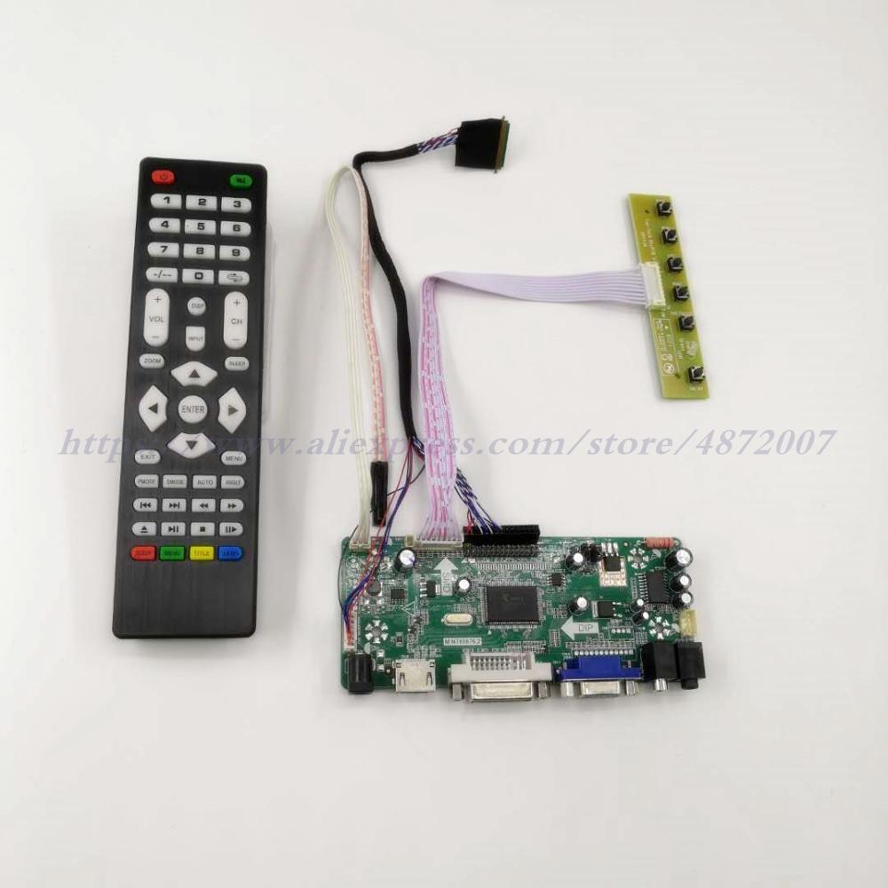 "TV HDMI USB VGA AV Placa de controlador de audio LCD para 14 ""15,6"" B140XW01 B156XW02 LP156WH2 B156XW04 B156XTN02.1 1366x768 pantalla LCD de pantalla"