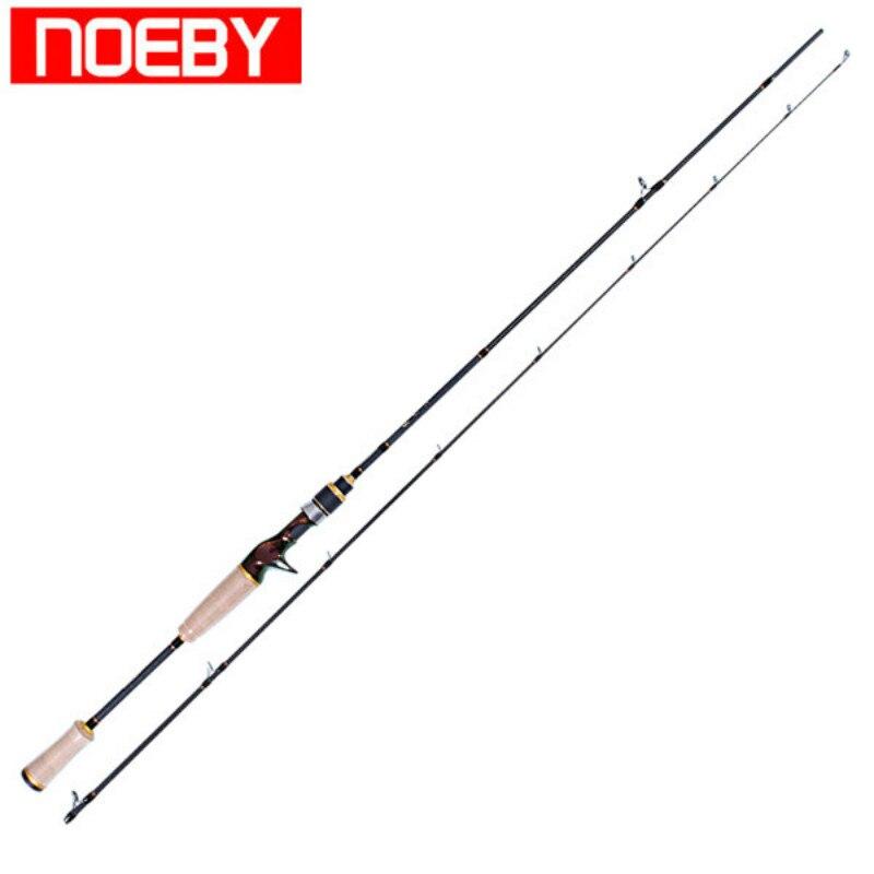 NOEBY Sección 2 1,8 m/2,13 m M/ML De Pesca Rod anillo De Fuji y asiento del carrete vara De Bajo Canne un Peche Varas De Pesca Para Rios Olta