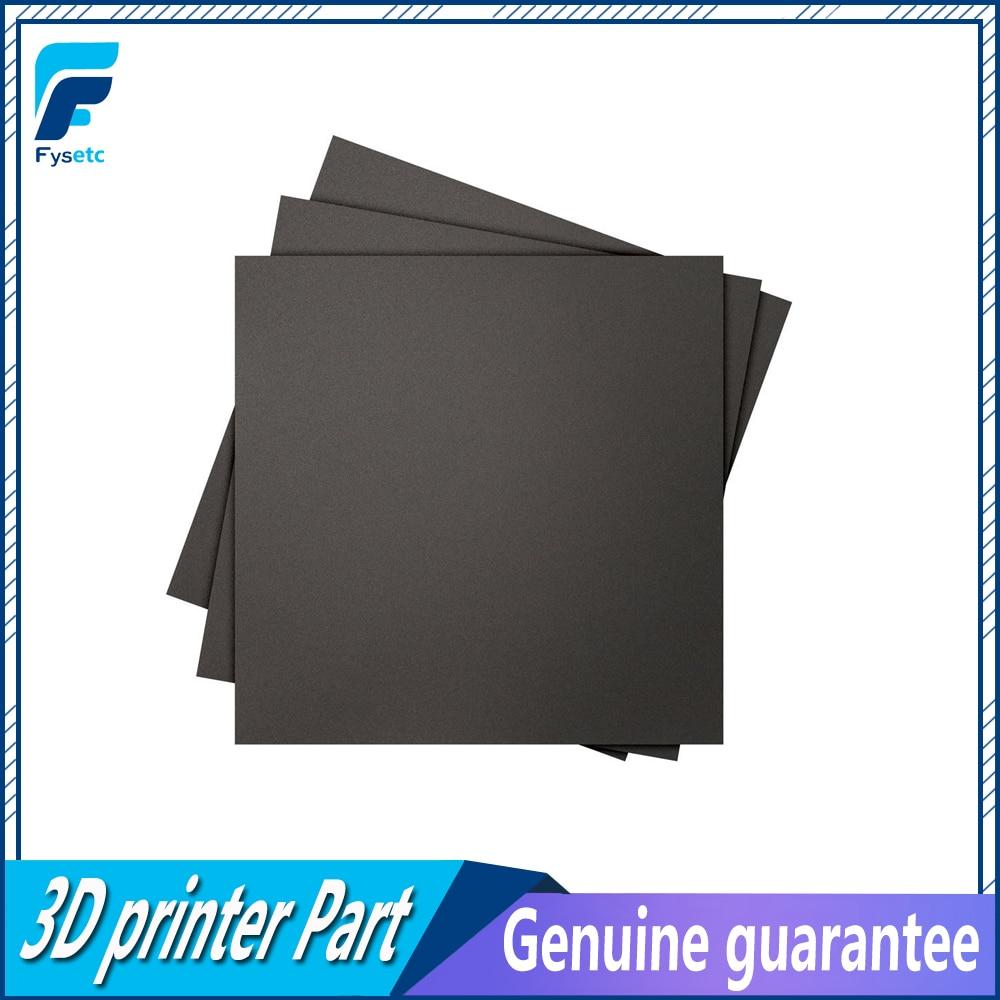 1pc 300x300mm esmerilado Cama adhesiva de calor de impresión de placas de construcción placa de construcción cinta etiqueta adhesiva de plataforma para Creality cr10S Lulzbot Taz6