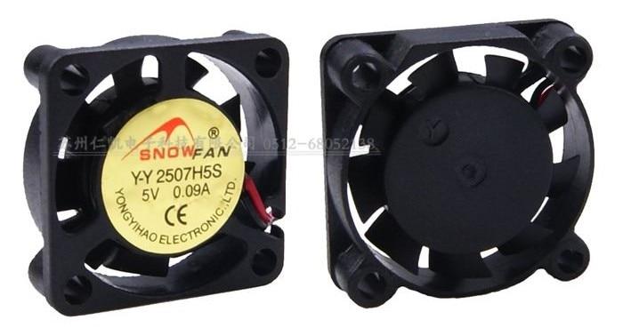 SNOWFAN YY2507H5S 2507 2,5 CM 2,5 cm 5 micro ventilador de refrigeración