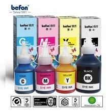 Befon llenar Kit de tinta de impresora Compatible para Brother TN DCP-T300 T300 500W 500 T700W T700 T800W de inyección de tinta de impresora