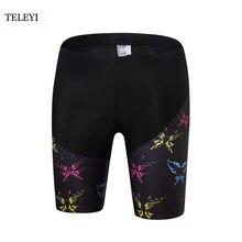TELEYI Team femmes Shorts de cyclisme vêtements de cyclisme vélo rembourré shorts vélo cyclisme shorts vêtements de cyclisme XS-4XL