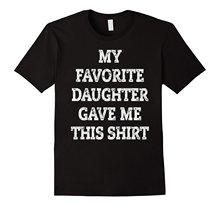 Cadeau de noël pour papa de fille à père cadeau T-Shirt nouvelle mode Cool décontracté t-shirts marque T-Shirt hommes 2018 mode