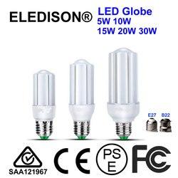 Fosco 10 W 5 W CONDUZIU a Luz do Milho Bulbo E27 B22 100-240 V CFL Retrofit Lâmpada PL Para Baixo Luzes de Teto Comercial Home Hotel Lâmpada de Iluminação