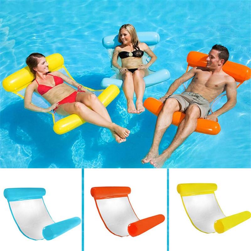 Ležaljka za vodu viseća ležaljka na napuhavanje plutajući madrac za plivanje prsten bazen bazen zabava krevet za kupanje