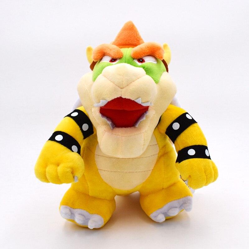 25CM Super Mario Bros Bowser soporte Peluche de Koopa juguete ideal como regalo para bebé