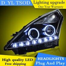 Phares de style de voiture pour Nissan Teana 2008-12 phare LED pour Teana lampe frontale LED feux de jour LED DRL bi-xénon HID