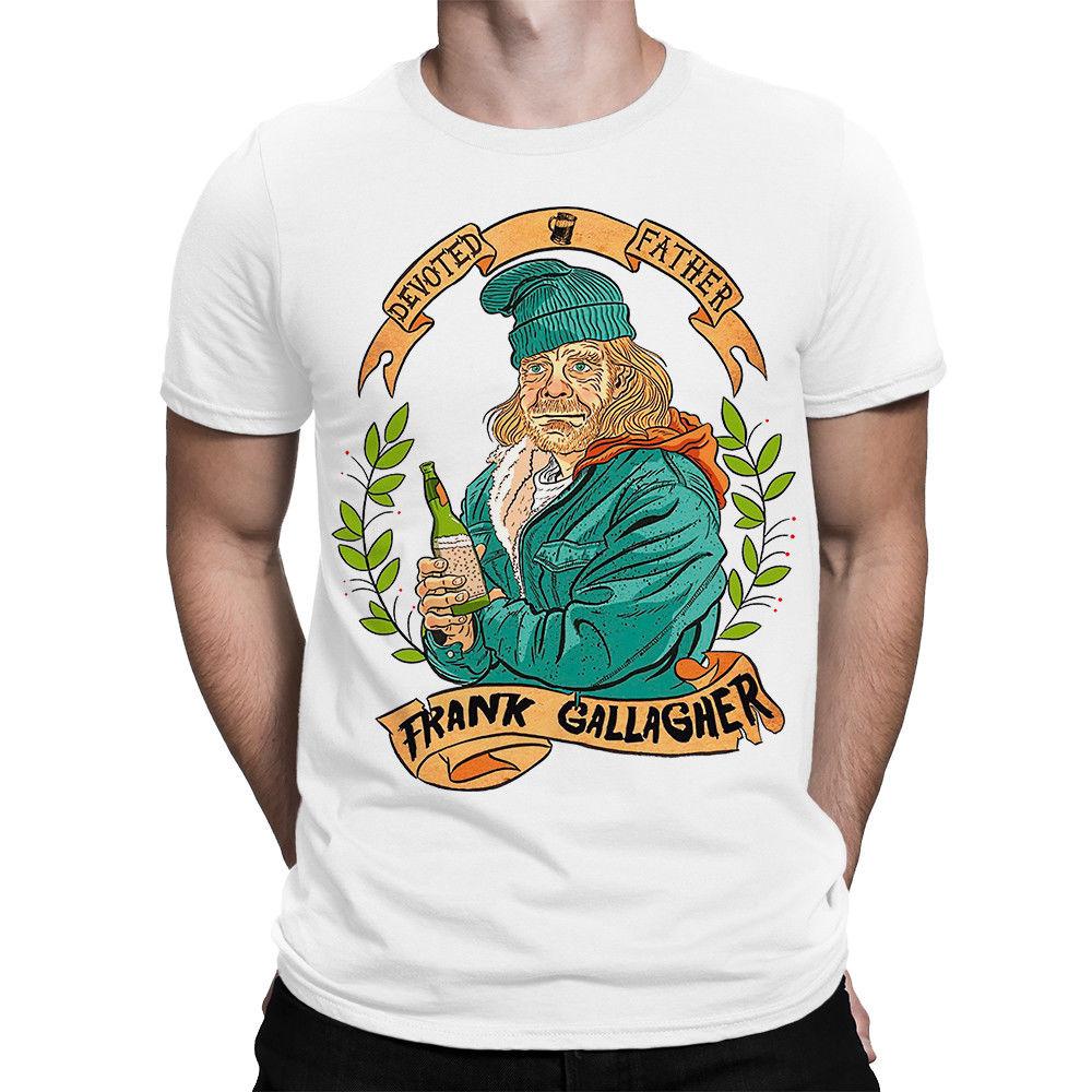 T-Shirt 2019 Fashion Men Shameless Art T-shirt, Frank Gallagher Tee, Mens All Sizes
