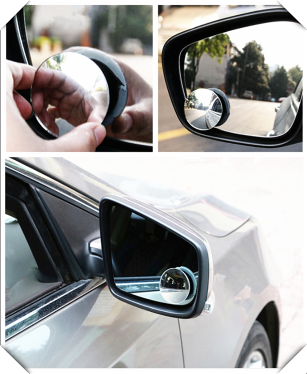 Coche sin bordes pequeño punto ciego redondo espejo de reversa ayuda para Chevrolet Miray Caprice Agile Stingray Aveo5 Matiz Lumina HHR