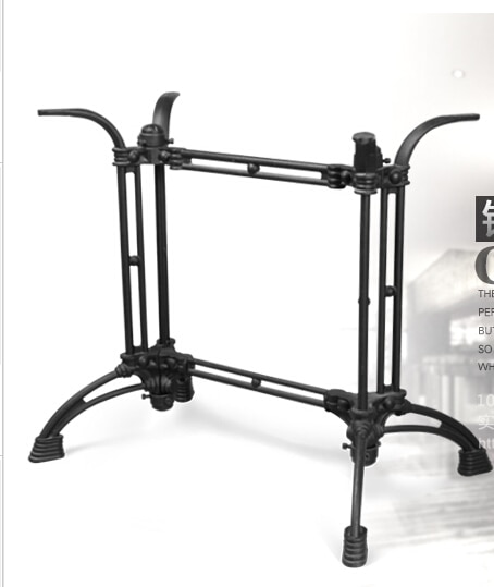 Cast iron, wrought iron table. Table legs. Long legs. fd self locking switch legs with long legs 2x3 frame