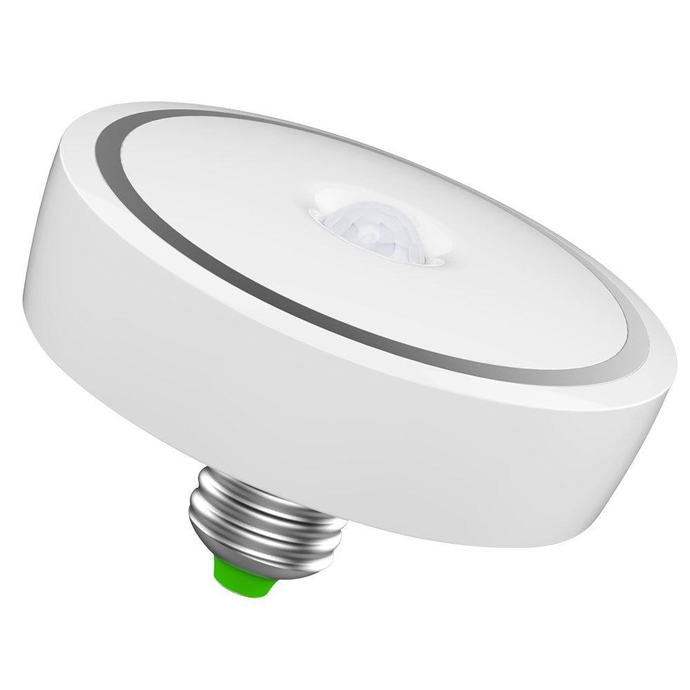 AC85~265V 12W E27 led ceiling lamp/ 24 LED PIR Motion Sensor Light Bulb Auto Switch Motion Detector LED Night Lamp/ Warm White