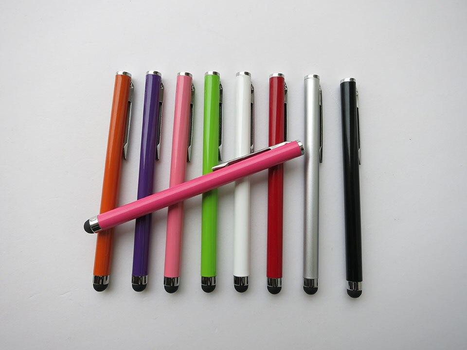 العالمي الملونة بالسعة شاشة تعمل باللمس القلم القلم لابل آيفون 5G 4s باد 4 سامسونج S4 بلاك بيري الهاتف المحمول DHL