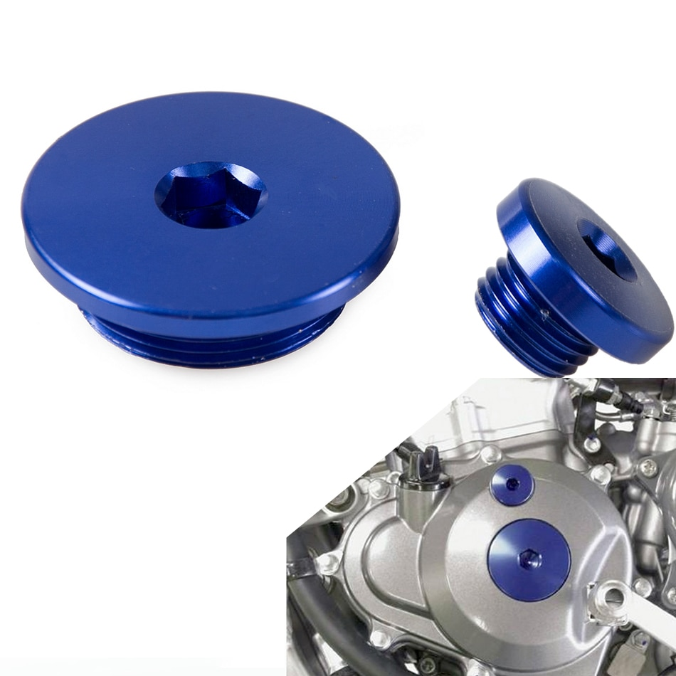 Sincronización del motor Cubierta del enchufe para Yamaha WR250X WR250R WR426F WR250F WR400F YZ250F YZ450F YZ426F YZ400F TTR 50 XV XT Serow VIRAGO 250