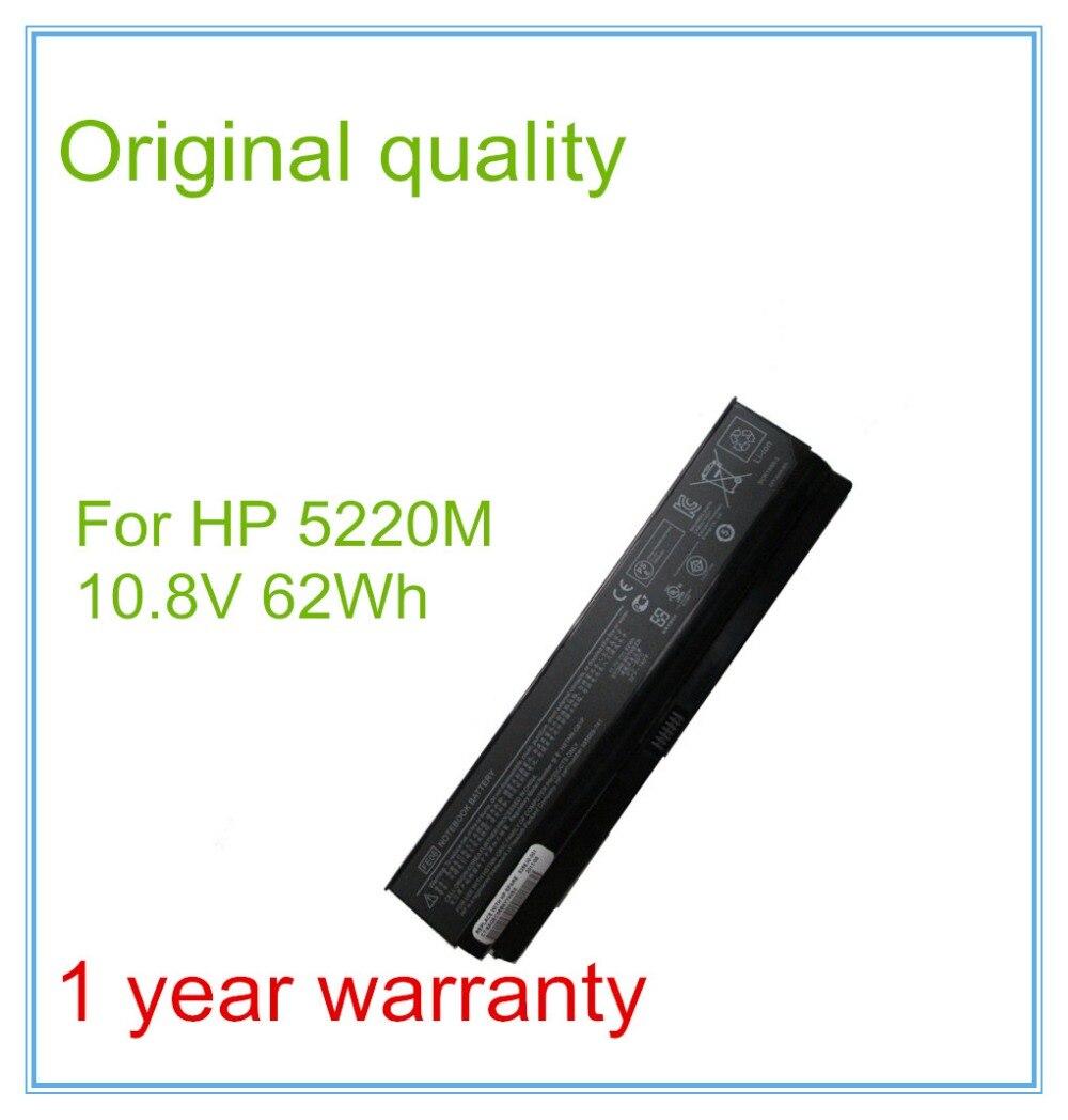 Bateria Do Laptop Original para 5220 M HSTNN-CB1P HSTNN-CB1Q HSTNN-UB1Q HSTNN-UB1P FE06 62WH