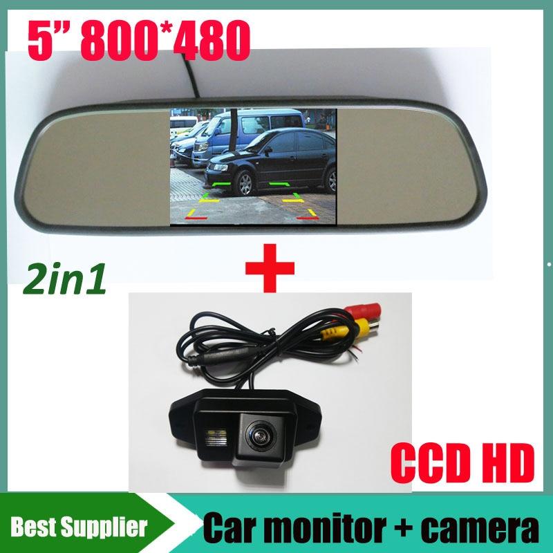 HD Auto rückfahrkamera für Toyota Land Cruiser 120 Serie Prado 2007 2008 2009 2010 2700 4000 + 5 800*480 Auto monitor