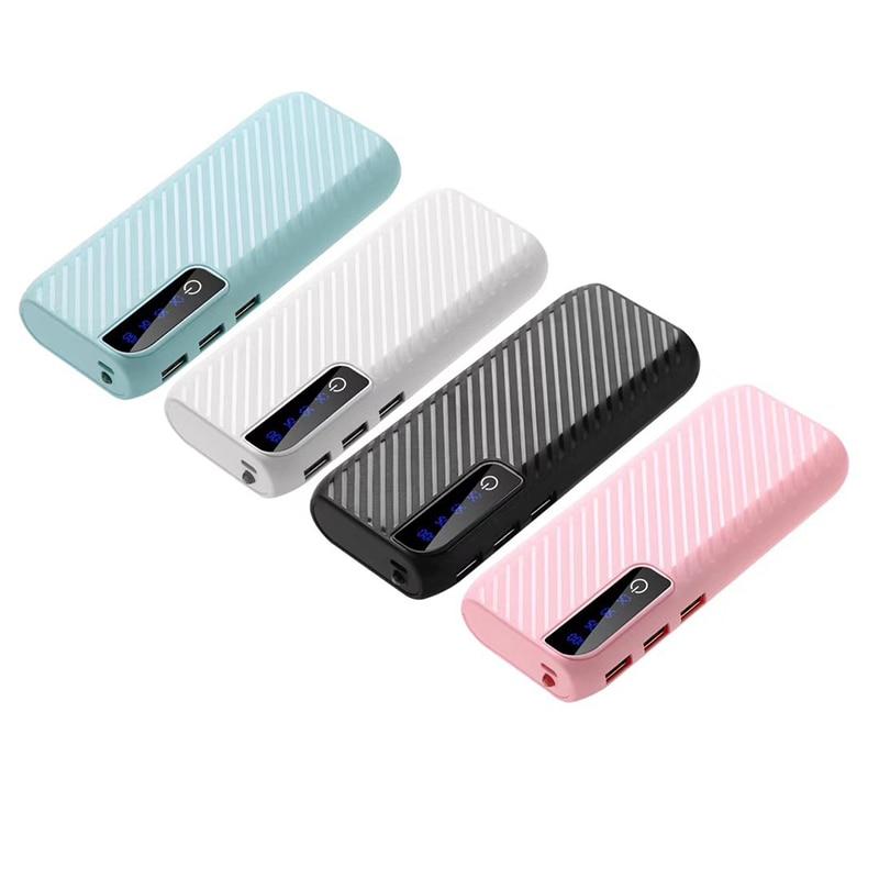 High Capacity Mini Power Bank 20000mAh 3 USB output External Charger Powerbank Portable poverbank for iPhone Samsung Xiaomi