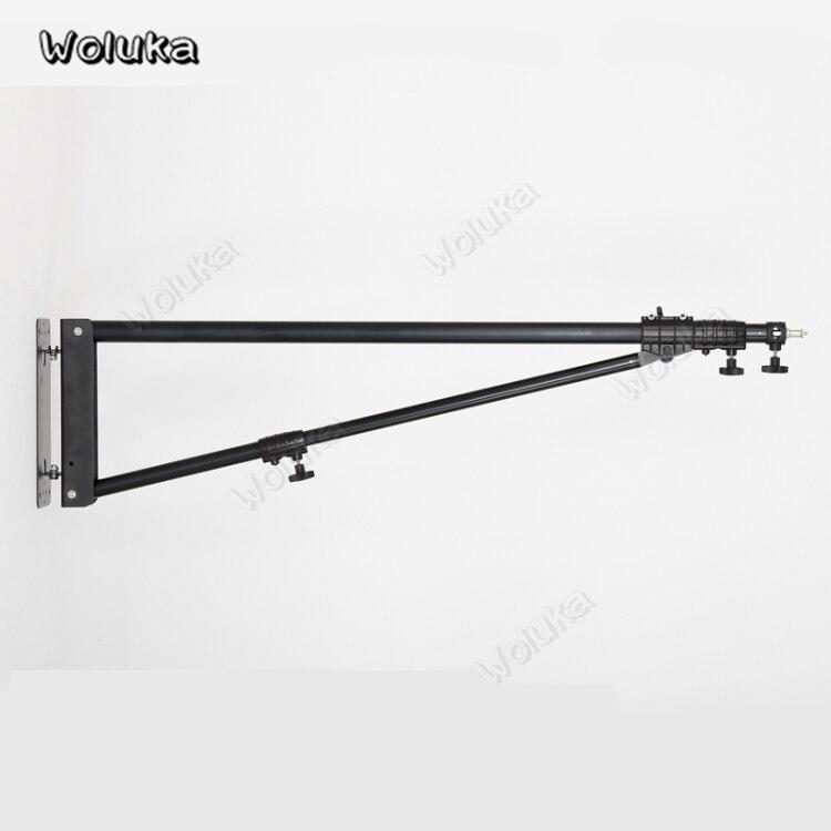 Soporte de iluminación para brazo de brazo Horizontal de 2m para estudio de fotografía, soporte de lámpara de WB-3, soporte de luz de pared, accesorios de soporte, CD50 T10 A