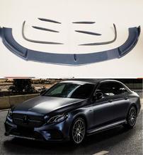 Couvercle de protection du pare-chocs avant   En Fiber de carbone, couvercle de protection du pare-chocs de voiture, pour Benz W213 E200 E260 E300 E320 2016 2017 2018 2019