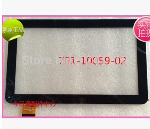 """Original 10,1 """"QSD 701-10059-02 Kapazitiven Touch Screen Panel Digitizer 701 10059 02 Glas Für Sprüche T10 Tablet Freeship"""