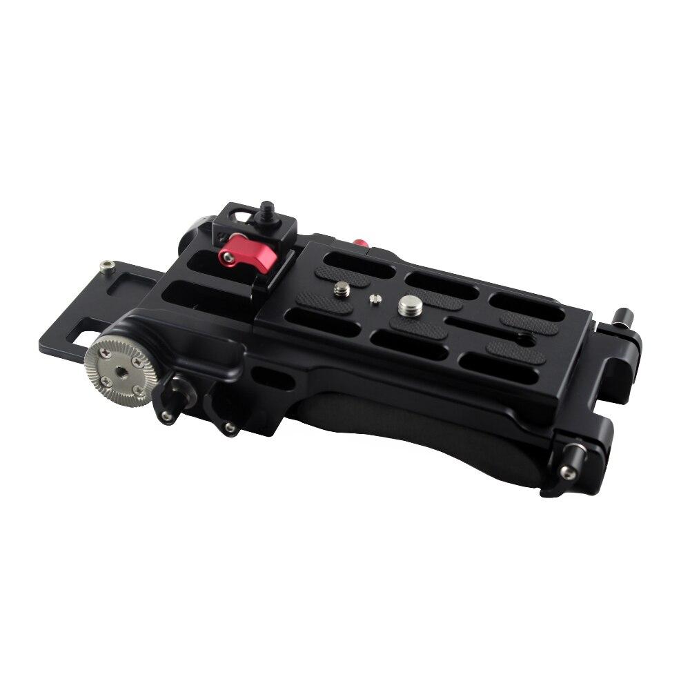 Plataforma FS5 de liberación rápida, 15mm, sistema de varilla de 15mm para...