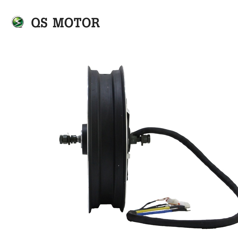 17X4.5inch QS Motor 7000W 7kW 273 50H V2 48V Brushless DC Electric Scooter Motorcycle Hub Motor enlarge