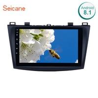 Seicane 9 Inch Android 9.1 Car Radio For 2009 2010 2011 2012 MAZDA 3 GPS Navi Wifi 3G Multimedia Player Head Unit Auto Stereo