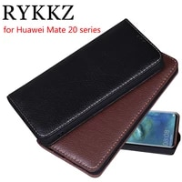 rykkz luxury leather flip cover for huawei mate 20 pro mobile stand case for huawei mate 20 20 x leather phone case cover