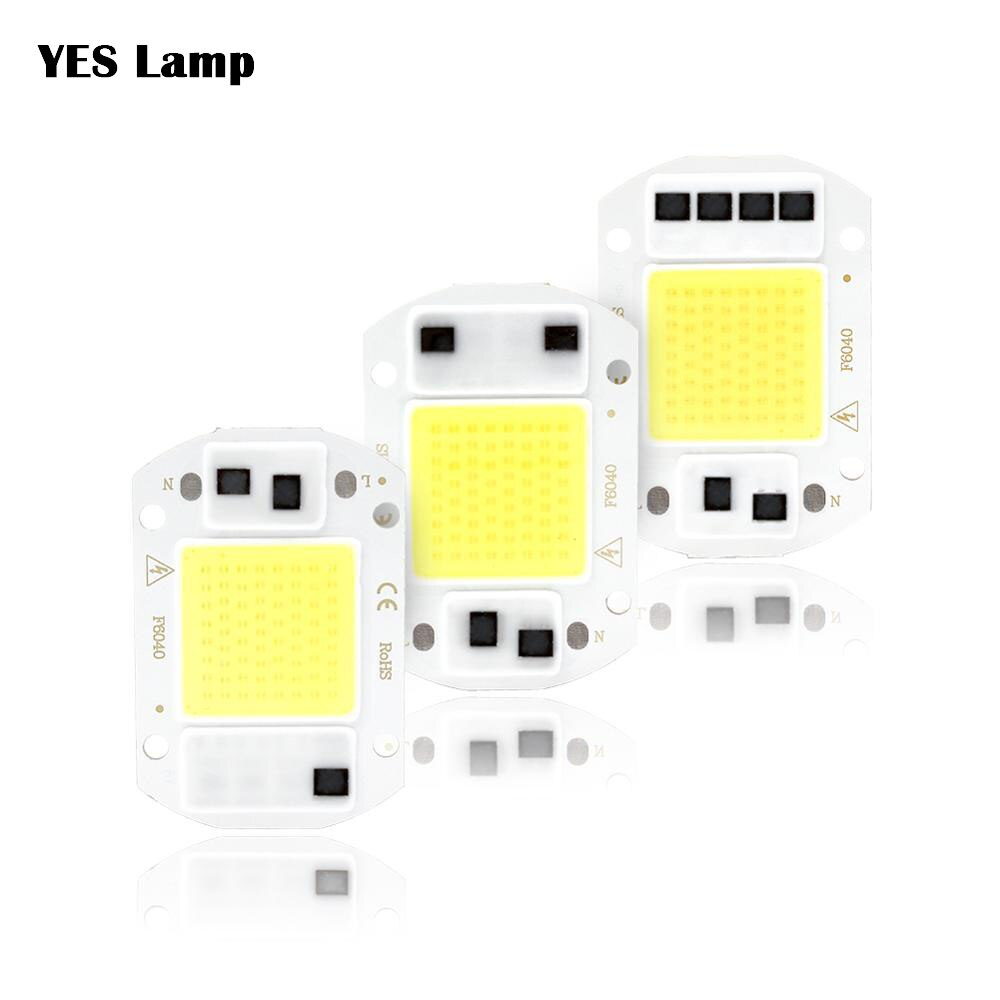 Miçangas ic inteligentes sem driver, diy y32 3w 5w 9w 10w 20w holofote de 30w, 50w, 100w e 150w, lâmpada para holofote 220v, 110v e luz branca