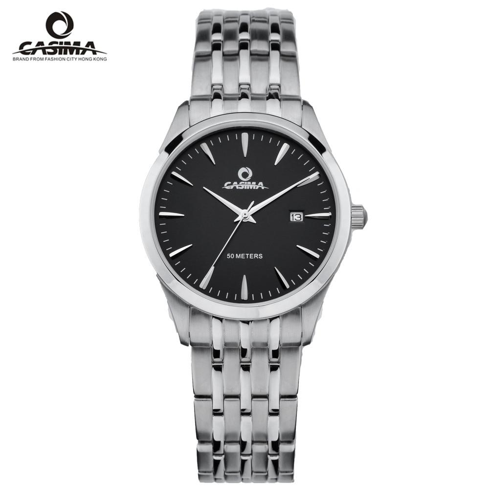 CASIMA Luxury Brand Watch Men Women Couple Lovers Waterproof Casual Black Quartz Wrist Clock Relogio Masculino Feminino