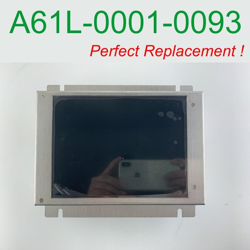 A61L-0001-0093 D9MM-11A متوافق شاشة الكريستال السائل 9 بوصة لوحة ل ماكينة بتحكم رقمي بالكمبيوتر استبدال CRT مراقب