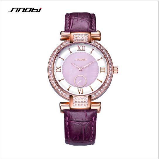 SINOBI Fashion Ladies Watch Women Watches Top Brand Women's Watches Diamond Clock saat reloj mujer relogio feminino montre femme