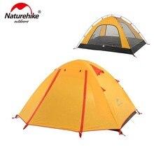NatureHike P 시리즈 클래식 캠핑 텐트 210T 패브릭 2 인용 NH15Z003-P