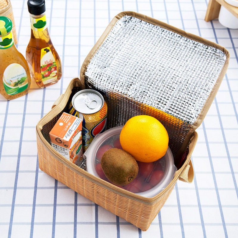 Tote para Piquenique ao ar Almoço Isolado Bolsa Impermeável Portátil Engrossar Livre Viagem Melhor Venda-wt 1 Pçs