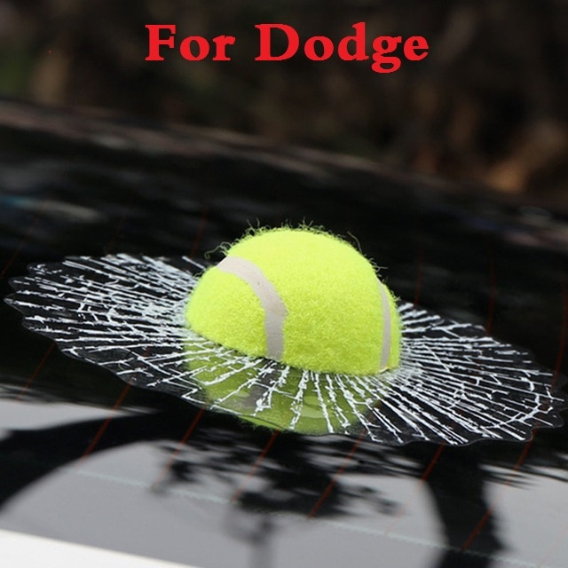 2017 Nova Car Styling tampa de Tênis Boné de Beisebol Auto Corpo Etiqueta Accessori para Dodge Caliber Avenger Challenger Charger Dart Durango