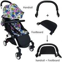 baby stroller footboard leather bumper bar handrest baby stroller accessories fit yoyo yoya yuyu pram armrest footrest