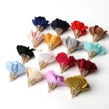 Boucles doreilles en daim pour femmes, 10 pièces, couleurs mélangées 25mm * 20mm, breloques, accessoires de bijoux, fantaisie, bricolage