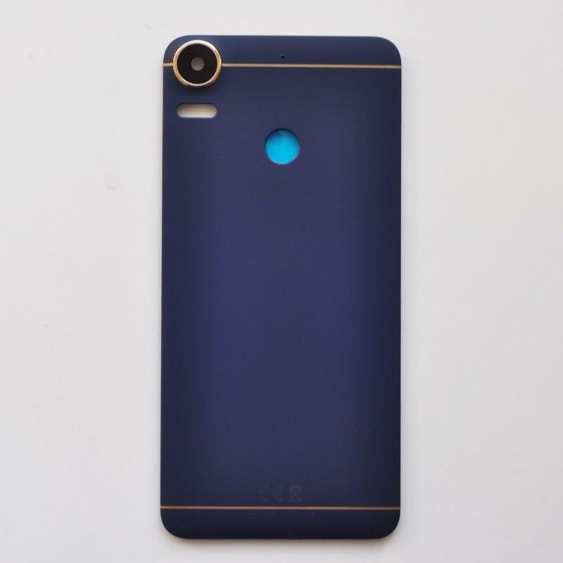 Carcasa trasera de plástico ZUCZUG para HTC Desire 10 Pro, funda trasera de batería con lente de cámara + logotipo
