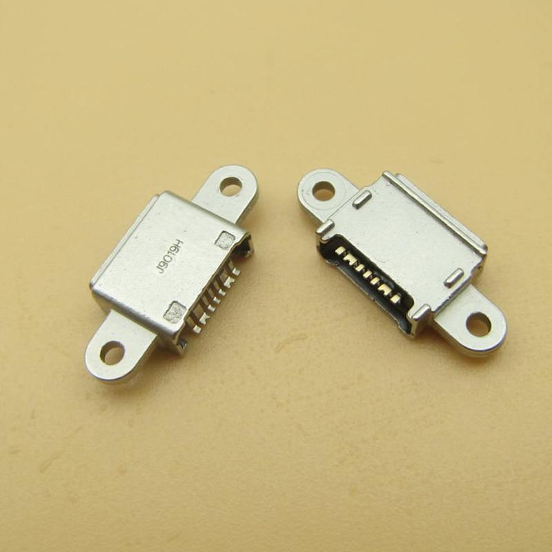 50 قطعة لسامسونج غالاكسي S7 G9300 G930F S7 Edge G9350 G935F 7pin مايكرو USB جاك منفذ الشحن موصل المقبس قاعدة