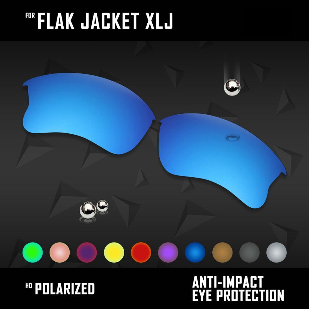 OOWLIT Lenses Replacements For Oakley Flak Jacket XLJ Sunglasses Polarized - Multi Colors