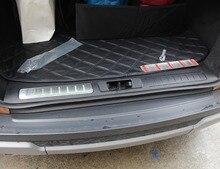 Protecteur de pare-chocs intérieur et extérieur   Pour Land Rover Range Rover Evoque 2012-2017 en acier inoxydable, accessoires de plaque de seuil