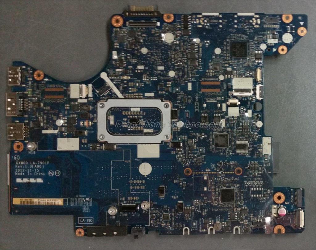 Placa base HOLYTIME para ordenador portátil dell Latitude E5430 CN-0X15F5 0X15F5 LA-7901P tarjeta gráfica integrada QM77 DDR3