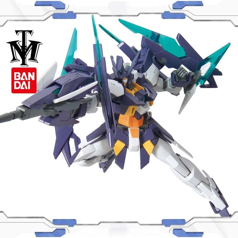 Japan Bandai HG 1/144 Gundam Build Divers Age2 Magnum Kyoya Kujos Mobile Suit Robot Gunpla Action Figure Transformable Toys