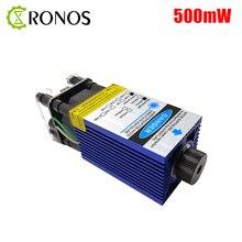 500mW 405nm Focusable 블루 레이저 모듈 레이저 조각 및 절단 TTL PWM 제어 0.5W 레이저 헤드 12V 5A 무료 배송