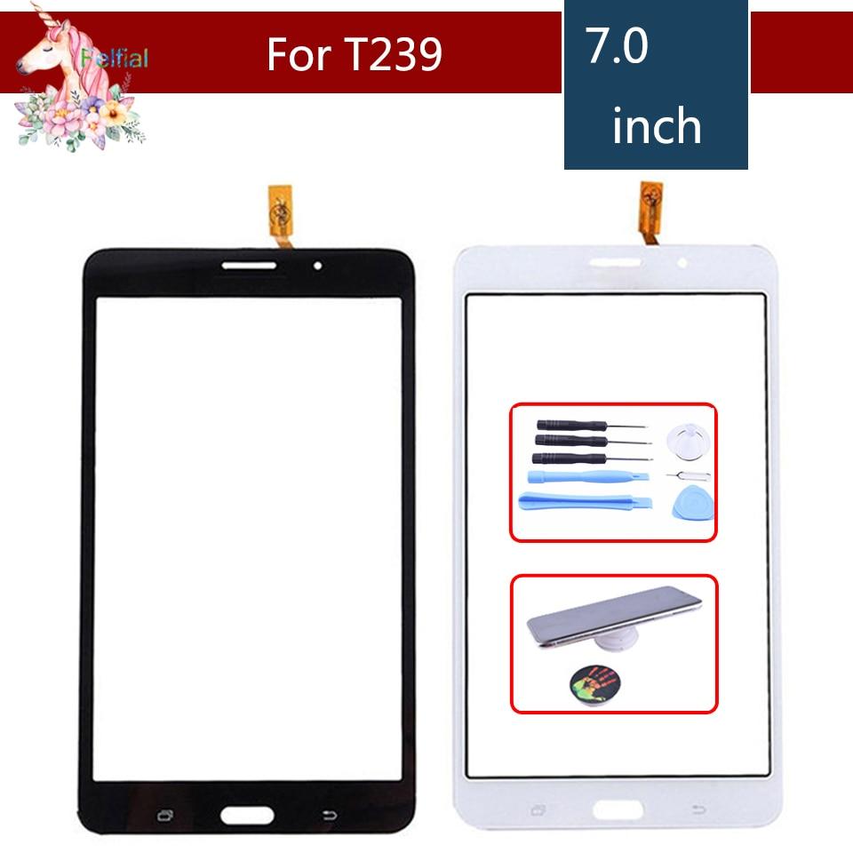 Original 7,0 pulgadas para Samsung Galaxy Tab 4 7,0 SM-T239 T239 Digitalizador de pantalla táctil Panel Sensor Replacement
