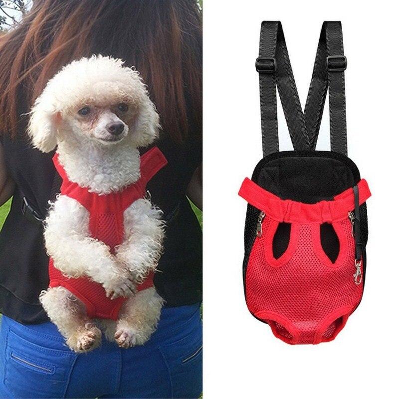 Transportín de perro transpirable durable, bolso de viaje clásico para perros, para viajes al aire libre, Transportín para cachorros y gatos, mochila para mascotas pequeñas