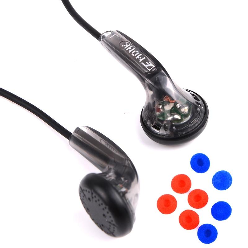 Hangrui VE monje Plus 3,5mm auriculares con cable estéreo HIFI auriculares para juegos auriculares con cancelación de ruido para Redmi note 8 pro