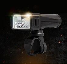 USB rechargeable 12000 Lumens vélo lampe de poche LED-T6 vélo lumière vélo lampe éclairage avec support de vélo + câble usb de 18650