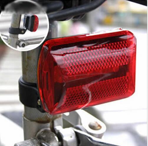 Lámpara LED impermeable, cabezal de cola para bicicleta, linterna para seguridad trasera, luz para bicicleta, linterna para bicicleta