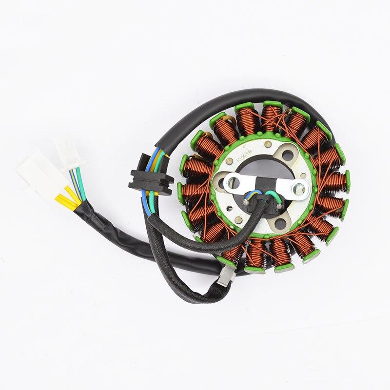 Gerador de bobina do estator do magneto da motocicleta para honda cb 125 f cb125f glr125 2015-2018 glh 125 e tempestade glh125 glh125shc/d 2012-2013