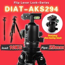 DIAT-AKS294 + SH-30 aluminium nogi etui z klapką blokady profesjonalnym statyw kamery i monopod